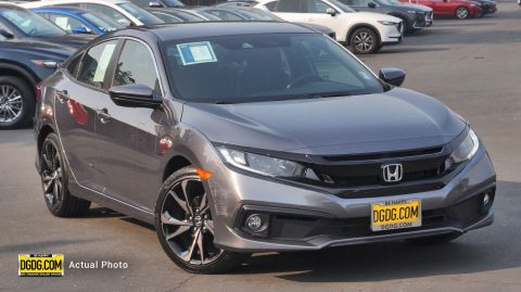 Pre-Owned 2019 Honda Civic Sedan Sport
